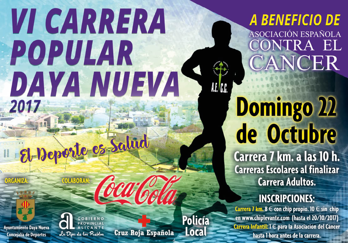VI Carrera Popular Solidaria Daya Nueva