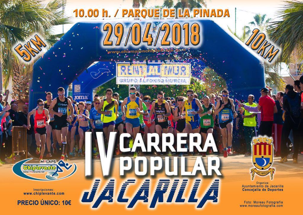 IV Carrera Popular 5K Y 10K Jacarilla