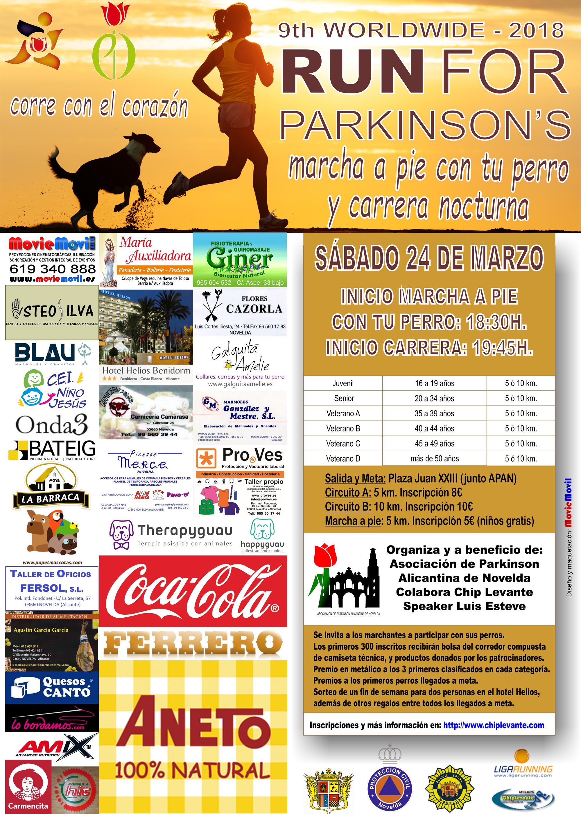 IX Carrera 5K, 10K Y Marcha por el Parkinson